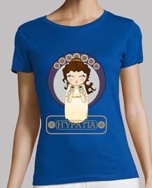 t-shirt kokeshi ipazia di alessandria