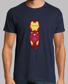 t-shirt kokeshi iron man