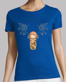 t-shirt kokeshi klimt