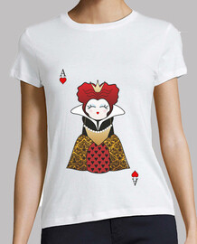 t-shirt kokeshi queen of hearts