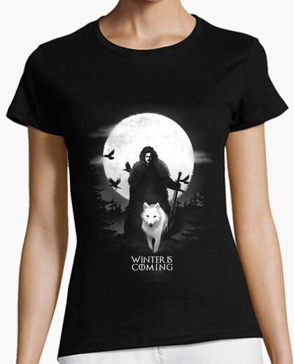 Tee-shirt t-shirt l' winter is coming