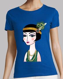 t-shirt lady 20s