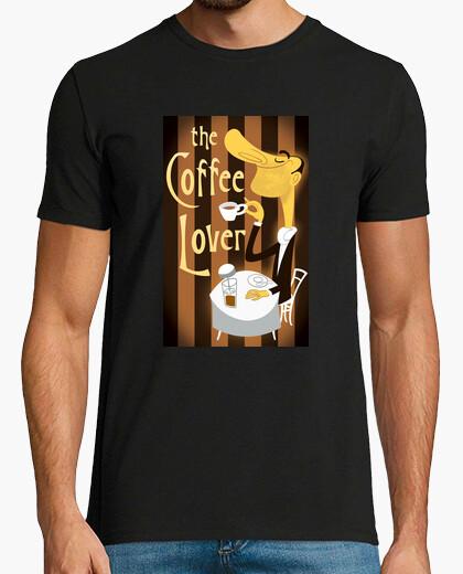 T-shirt l'amante del caffè