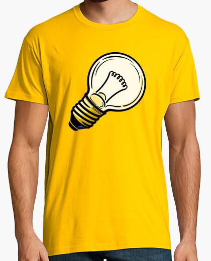 T-shirt lampadina idea