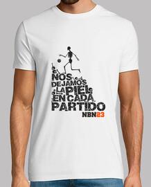 t-shirt lasciare la nostra pelle in ogni partito nbn23 qualità extra