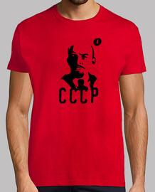 t-shirt laurea lenin cccp