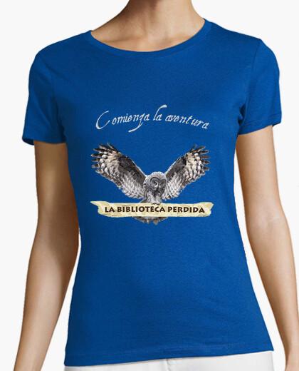 T-shirt lbp - donna, maniche corte, grigio scuro, qualità premium