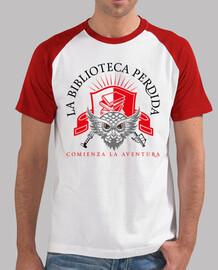 t-shirt lbp - uomo, bianca e rosso