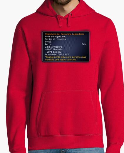 Sweat t-shirt légendaire de warcraft