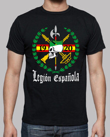 t-shirt legion teschio mod.1