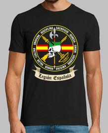 t-shirt legion teschio mod.2