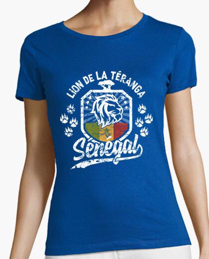 T-shirt leone del Senegal di Teranga