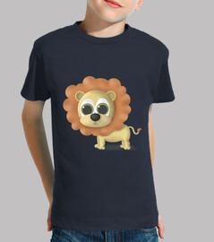 t-shirt leone vari colori