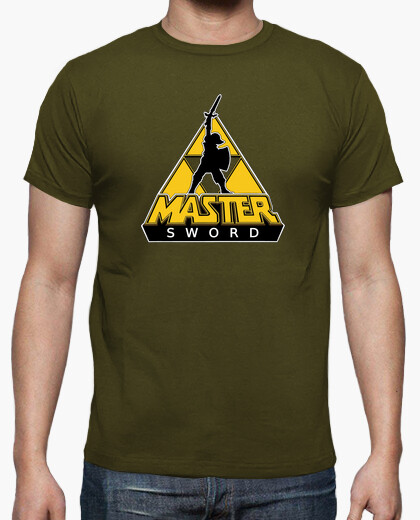 T-shirt link e la spada maestro
