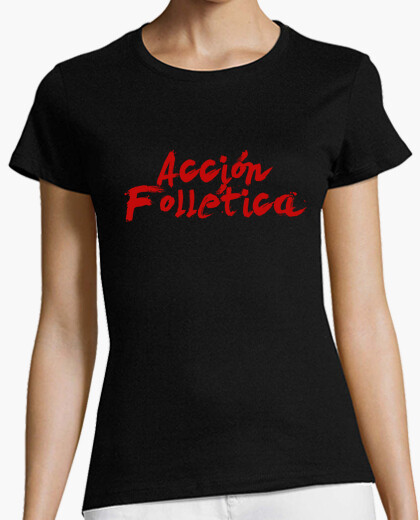 T-shirt logo dell'azione folletica