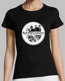 t-shirt logo femme triste colline
