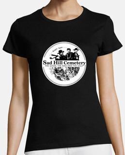 t-shirt logo sad hill woman