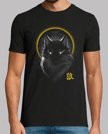 t-shirt loup fantôme