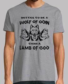 t-shirt loup ou agneau