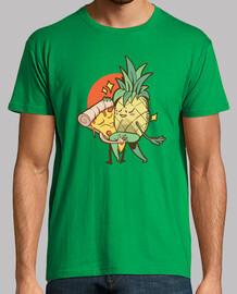 t-shirt love forbidden pineapple pizza