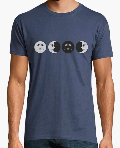 T-shirt lune a manica corta