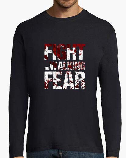 T-shirt lunghe uomini manica fight il...