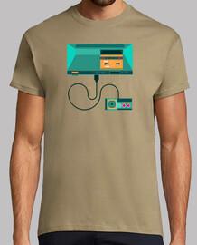 t-shirt maestro sega system