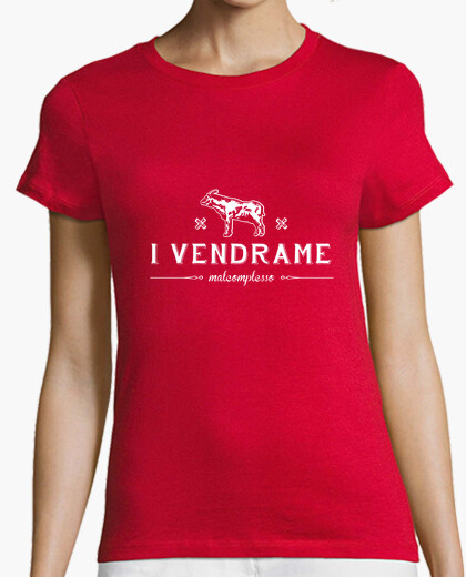 T-shirt mal-official vendrame woman