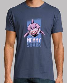 t-shirt maman requin