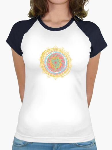 T-shirt mandala parole petali