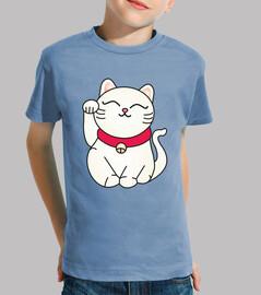 t-shirt maneki neko nin @