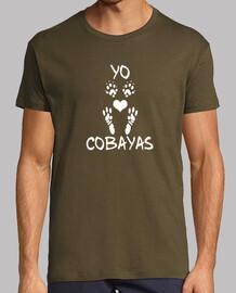 t-shirt manica corta uomo che amo le maiali guinea