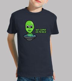 t-shirt marziani (bambino)
