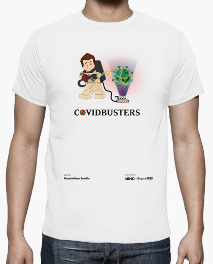 T-shirt Massimiliano Santillo - Ghostbusters