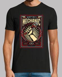 t-shirt meccanica vintage vintage 1976
