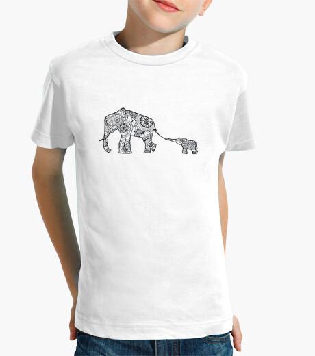 Vêtements enfant t-shirt mère et fils
