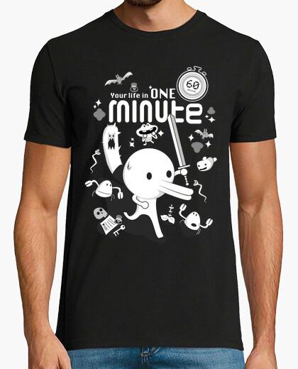 T-shirt minit: la your vita in one minuto