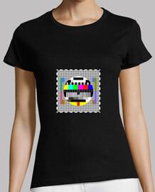 T-shirt Mire télévision pour femme