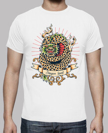 t-shirt mitologia vintage spirit vintage drago