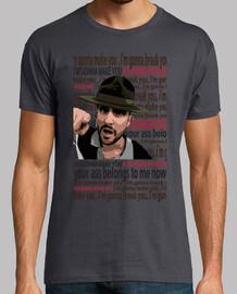 t-shirt mixte manche courte muse psycho rock music