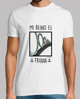 t-shirt mon royaume est triana