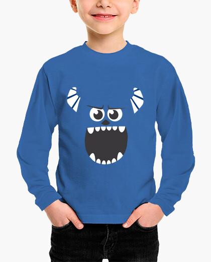 Abbigliamento bambino t-shirt mostro sa