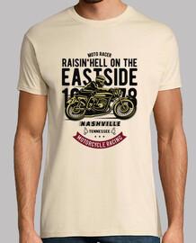 t-shirt motards motards narcisse retro