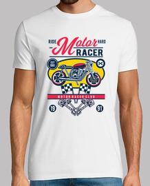 t-shirt moto 1991 cartoni animati moto