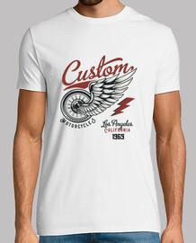 t-shirt moto biker vintage custom