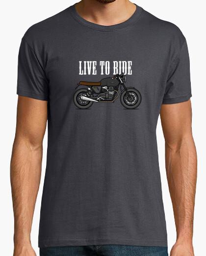 T-shirt moto guzzi v7ii st one b rat stile