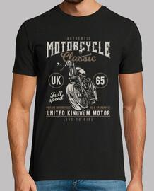t-shirt moto vintage biker uk 1965