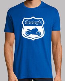 t-shirt motología white logo