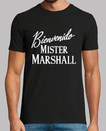 t-shirt mr welcome. marshall