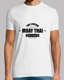 t-shirt muay thai - boxe - combattente